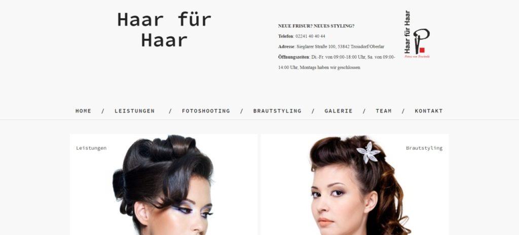 Haar für Haar in Troisdorf-Oberlar