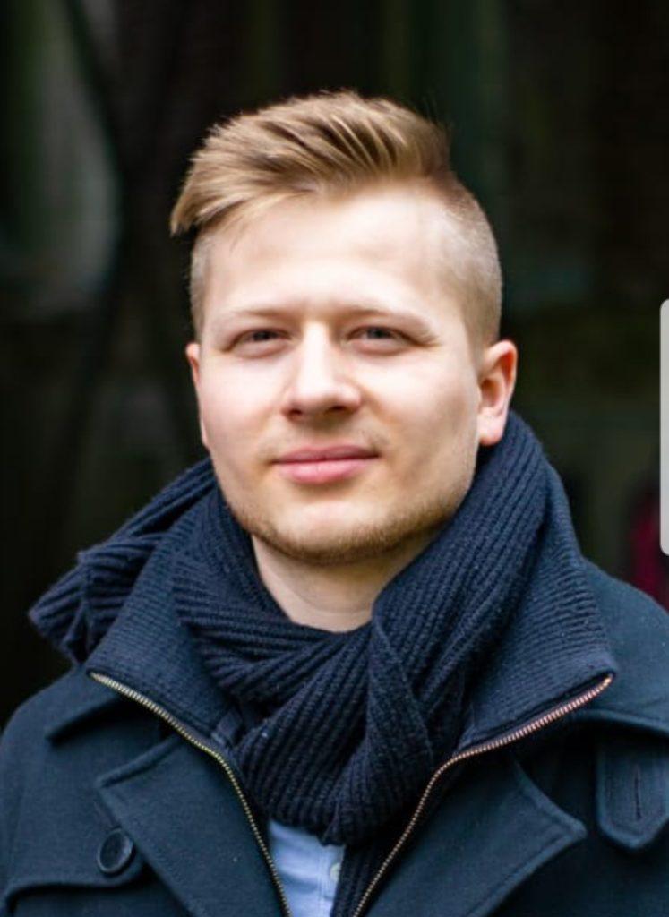 Dennis Fajt, langjähriger Blogger