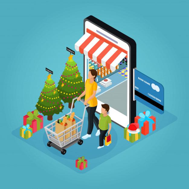 Newsletter Marketing zur Vorweihnachtszeit, Quelle: freepik.es
