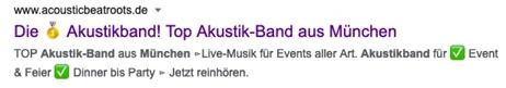 SEO für Musiker - Webmaster und SEO