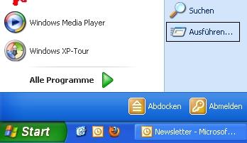 Shortcuts in Windows XP 1